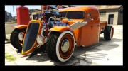 1936 Ford Pickup Hotrod Style for GTA 5 miniature 1