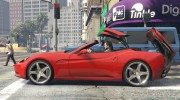 2012 Ferrari California BETA for GTA 5 miniature 9