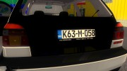 Volkswagen Golf 3 ABT VR6 Turbo Syncro for GTA 3 miniature 8