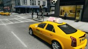 Cadillac CTS-V Taxi for GTA 4 miniature 3
