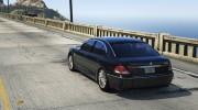 BMW 760i (e65) for GTA 5 miniature 5