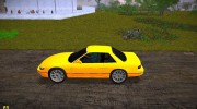 Nissan Silvia S13 Black Revel for GTA Vice City miniature 2