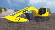 Komatsu PC 210 LC для Farming Simulator 2015 миниатюра 7