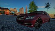 2012 Mercedes-Benz CLS63 AMG Vossen VVS-CV5 for GTA San Andreas miniature 1