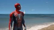 Spiderman PS4 4k 2.0 for GTA 5 miniature 1