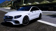 Mercedes-Benz E63 AMG for GTA 5 miniature 1
