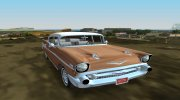 Chevrolet Bel Air 1957 Sedan for GTA Vice City miniature 3