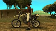 Yamaha XT 660 Enduro for GTA San Andreas miniature 3