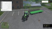Joskin Wago Trailed 10m Autoloader v 1.0 for Farming Simulator 2015 miniature 7