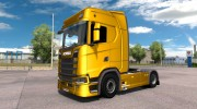 Scania S730 With interior v2.0 for Euro Truck Simulator 2 miniature 2