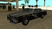 Ford LTD Crown Victoria 1987 New Mexico State Police for GTA San Andreas miniature 1