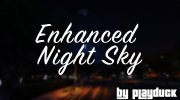 Enhanced Night Sky for GTA 5 miniature 1