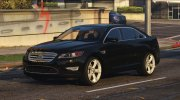 Ford Taurus SHO 2010 for GTA 5 miniature 1