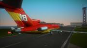 Boeing 727-100 Braniff International for GTA Vice City miniature 5