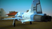 Us Air Force (Northrop F5f Skimmer) for GTA Vice City miniature 4