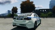 Honda Accord Type R NYPD (City Patrol 1090) для GTA 4 миниатюра 4