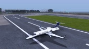 Bombardier Learjet XR 45 for GTA San Andreas miniature 1