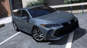 2019 Toyota Avalon XLE for GTA 5 miniature 1