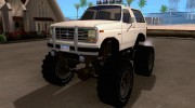 Ford Bronco Monster Truck 1985 for GTA San Andreas miniature 1