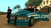Beta Police car HD для GTA San Andreas миниатюра 4