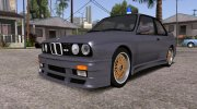 BMW M3 E30 (US-spec) 1991 for GTA San Andreas miniature 5