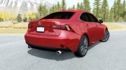 Lexus IS 350 F Sport (XE30) 2013 for BeamNG.Drive miniature 3