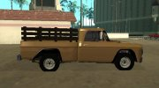 Dodge D100 1968 for GTA San Andreas miniature 6