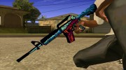 M4a1 Hyper Beast for GTA San Andreas miniature 2