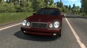 Mercedes-Benz W210 for Euro Truck Simulator 2 miniature 3