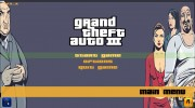 GTA III HD Menu (16:9) для GTA 3 миниатюра 4