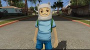 Finn From Cartoon Network Universe Fusionfall Heroes for GTA San Andreas miniature 1