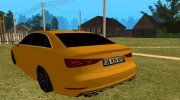 Audi A3 S-Line for GTA San Andreas miniature 2