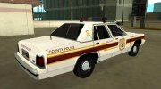 Ford LTD Crown Victoria 1991 New Castle County Police for GTA San Andreas miniature 3