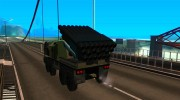 Missile Launcher Truck for GTA San Andreas miniature 3