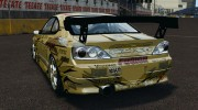 Nissan Silvia S15 D1GP TOP SECRET for GTA 4 miniature 3