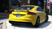 Audi TT RS 2013 v1 for GTA 5 miniature 6