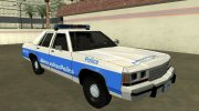 Ford LTD Crown Victoria 1991 Massachusetts Metro Police for GTA San Andreas miniature 2