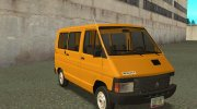 RENAULT TRAFIC T1000D MINIBUS for GTA San Andreas miniature 1