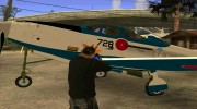P-39N Airacobra JASDF Blue Impulse for GTA San Andreas miniature 13