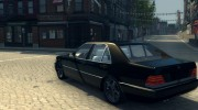 Mercedes S600 W140 for Mafia II miniature 8