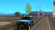 Land Rover Defender 110 for GTA San Andreas miniature 1