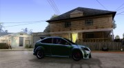 Ford Focus RS для GTA San Andreas миниатюра 5