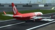 Boeing 737-800 Gol Transportes Aéreos for GTA San Andreas miniature 3