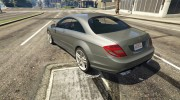 2010 Mercedes-Benz CL65 AMG for GTA 5 miniature 2