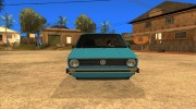 Volkswagen Сaddy 1980 for GTA San Andreas miniature 2