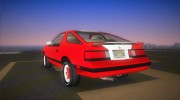 Dodge Daytona Turbo CZ 1986 for GTA Vice City miniature 4