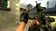 Dark Camo M4A1 для Counter-Strike Source миниатюра 3