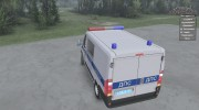 Fiat Ducato «ДПС» for Spintires 2014 miniature 3