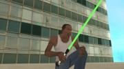 Световой меч из STAR WARS for GTA San Andreas miniature 3