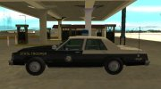 Ford LTD Crown Victoria 1987 Florida Highway Patrol for GTA San Andreas miniature 5